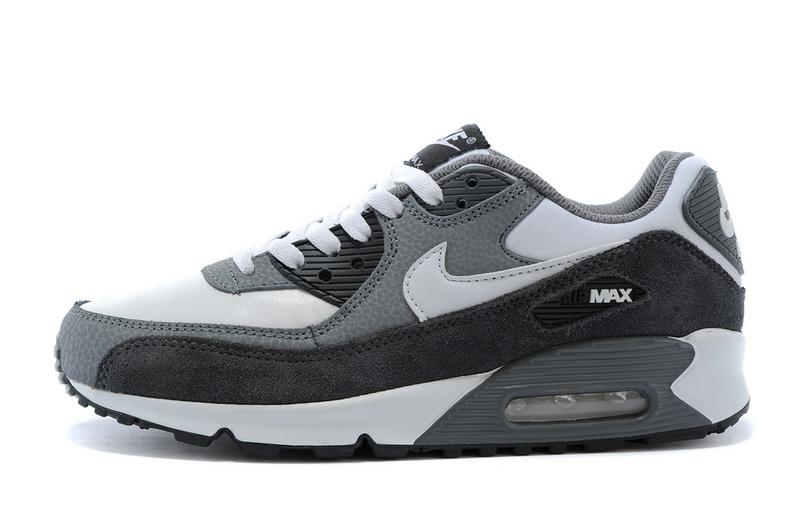 nike air max 90 femme noir et gris et blanche,Nike Air Max 90 ...